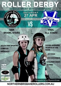NBR vs VRDL Sat 27th April Poster